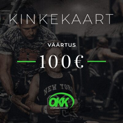 Kinkekaart 100eur