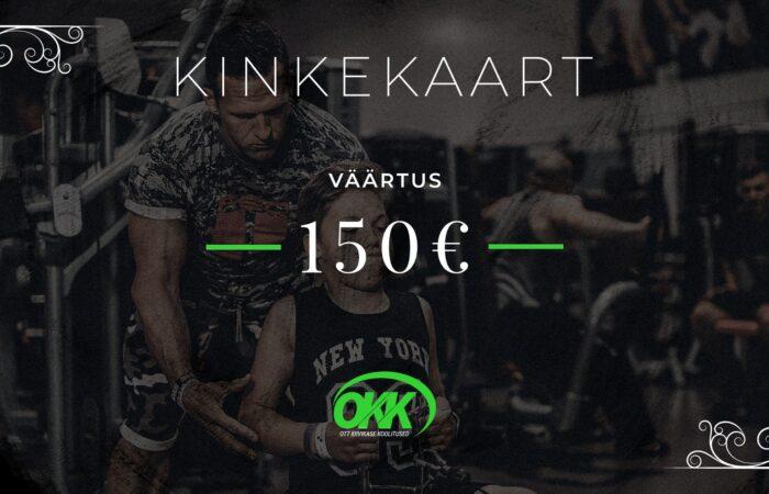Kinkekaart 150eur