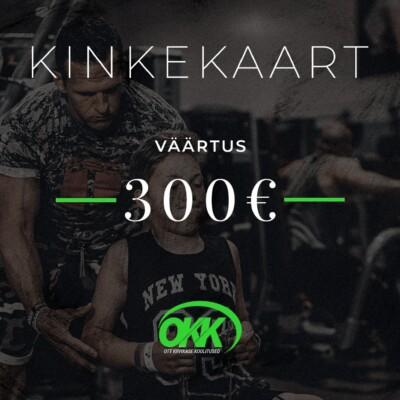 Kinkekaart 300eur